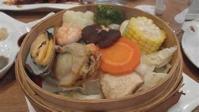 海鲜杂菜沙律