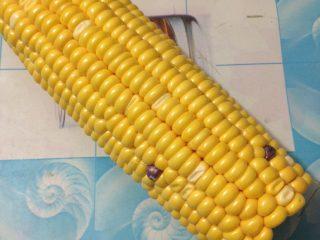 玉米汁,如图先将玉米洗干净