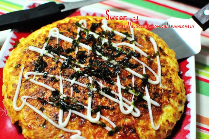 日式杂菜饼