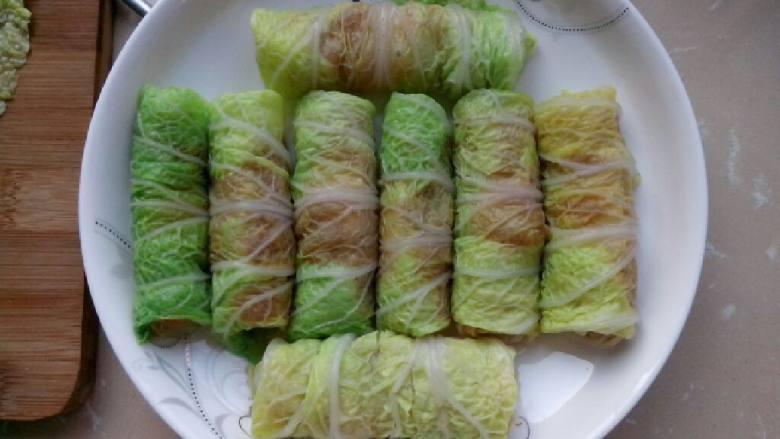 虾膏白菜卷