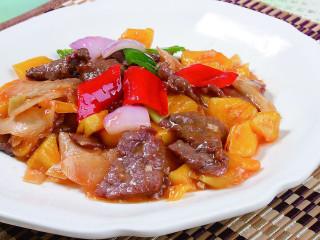 菠萝蜜炒牛肉