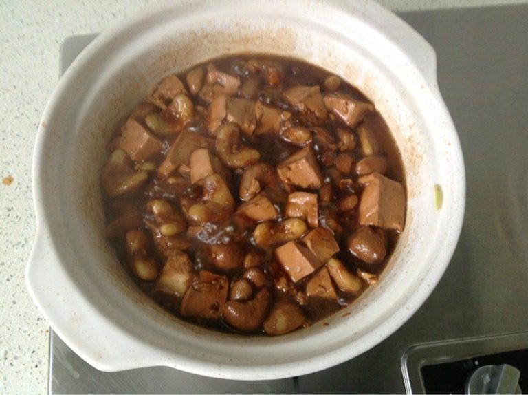 菱角烧豆腐