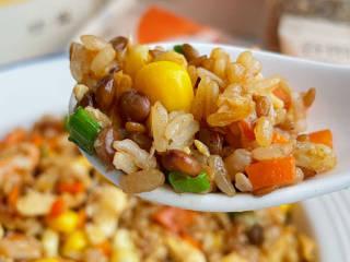 玉米虾仁蛋炒饭,这炒饭绝绝子啊