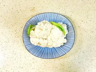 椒盐花菜,花菜洗净