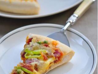 简易腊肠披萨
