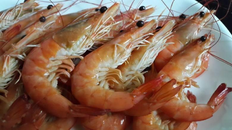 清煮竹节虾