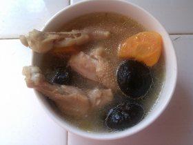 胡萝卜香菇鸡汤