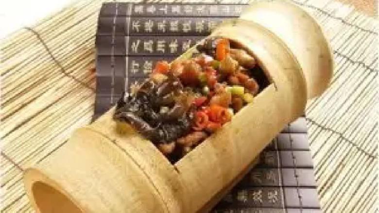 竹筒鸡(广西)