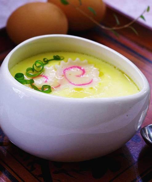 日式鱼糕蒸蛋
