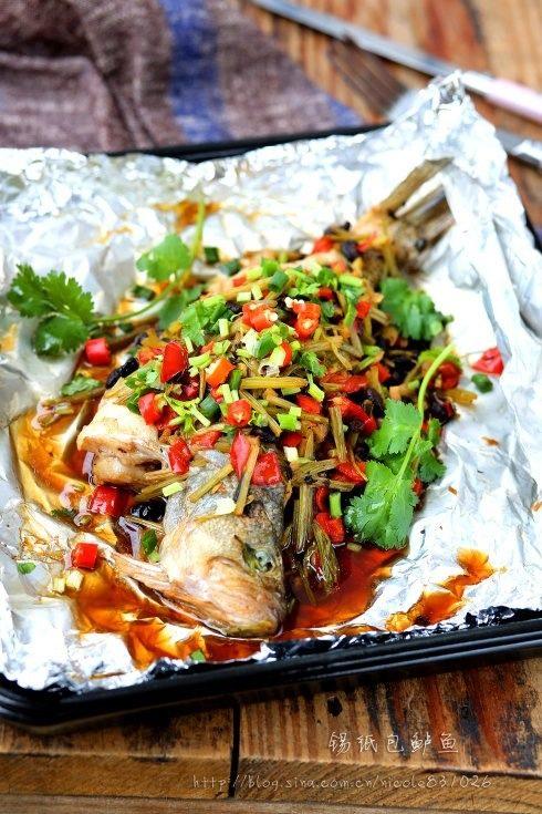 轻松炮制餐厅人气大菜:秘制锡纸包鲈鱼
