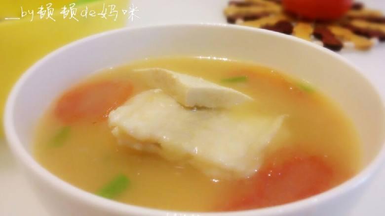 番茄豆腐鱼排汤