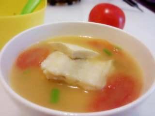 番茄豆腐鱼排汤,汤鲜味美~