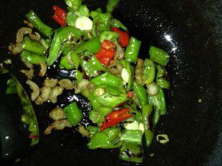 糖醋虎皮青椒,如图放青椒