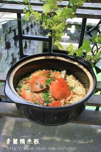 青蟹糯米饭