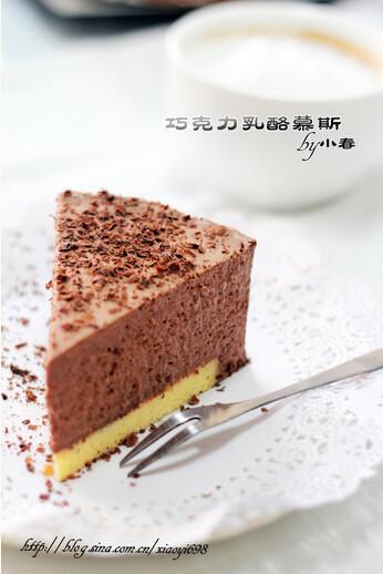 巧克力乳酪慕斯-慕斯做法