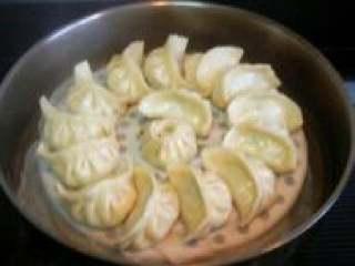 白萝卜馅饺子,好了饺子蒸好了。