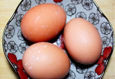 春韭蛤肉,鸡蛋三个