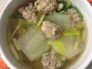 虾丸冬瓜汤