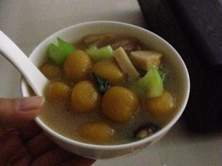 番薯丸子汤