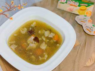 养生汤—香菇肉片汤,完成