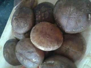 香菇鸽子汤,香菇划十字刀