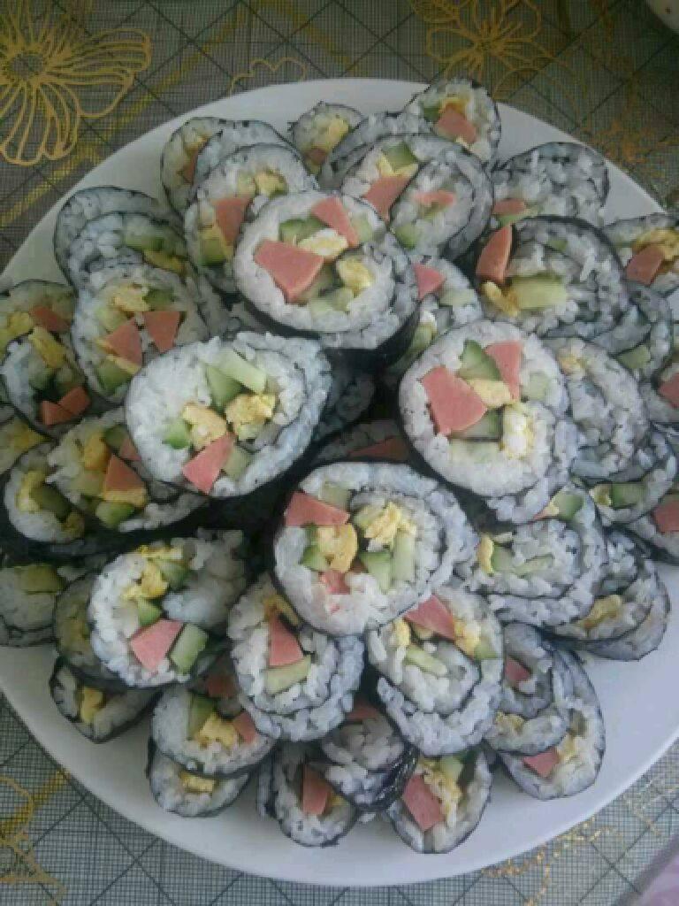 自制简单版寿司