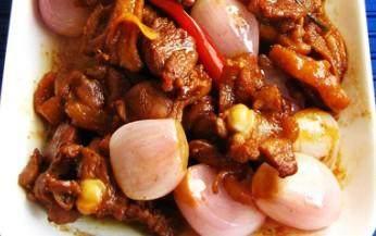 红葱炒鸭肉