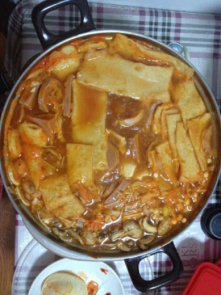 芝士年糕火锅