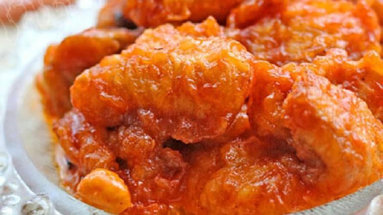 茄汁鮰鱼肚
