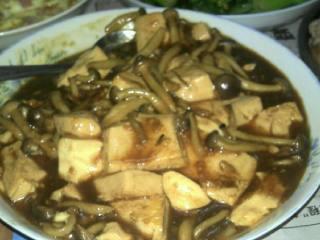 豆腐真姬菇