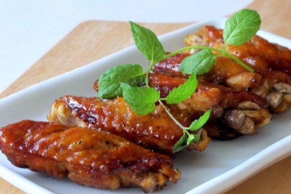 黑胡椒烤翅&黑胡椒蜜汁鸡翅