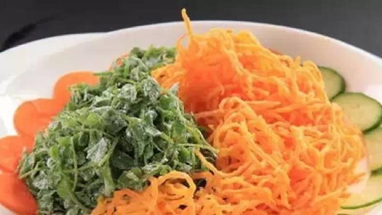 原味蒸蔬菜