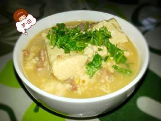 黄豆酱焖豆腐