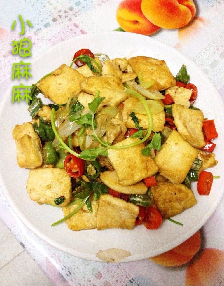 葱烧卤水豆腐