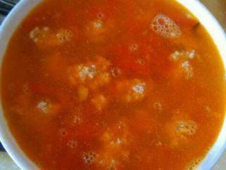 番茄肉丸子汤