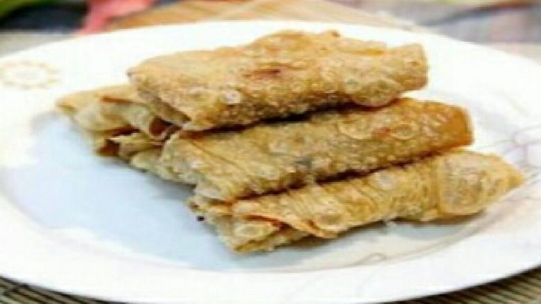 三鲜豆皮卷