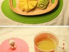 菠萝猕猴桃汁