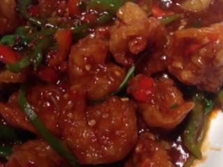 番茄汁虾球