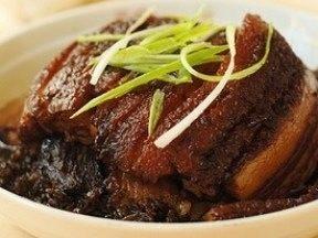 咸烧白冬菜蒸肉