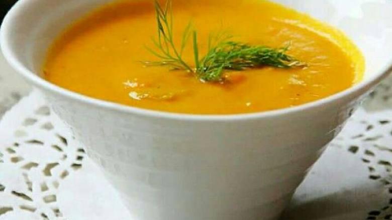 西式胡萝卜浓汤