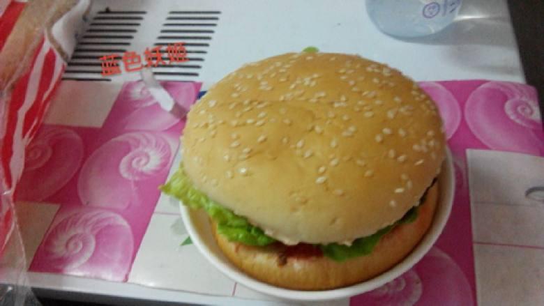 培根汉堡包