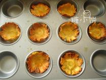 烤菠萝花,烤到颜色变得有些焦黄,我总共烤了两个多小时
