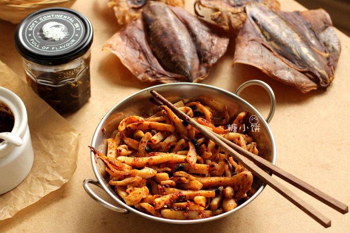 红油豉香墨鱼条