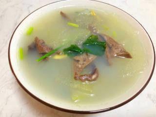 鸭杂冬瓜汤