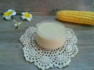 奶香玉米汁,成品