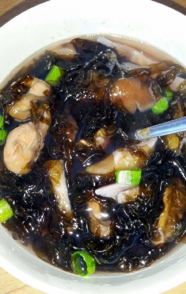 牡蛎紫菜汤