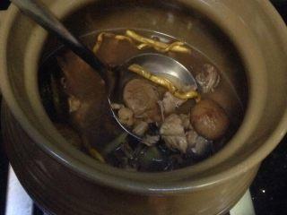 石斛瑶柱无花果炖鹧鸪汤