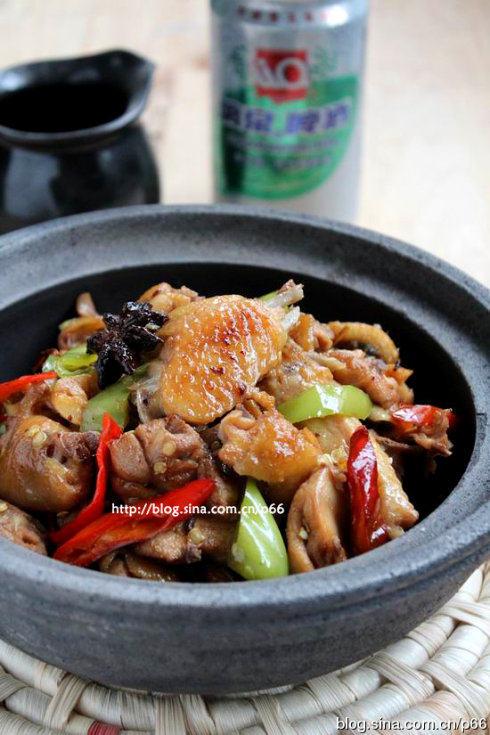 干锅香辣啤酒鸡