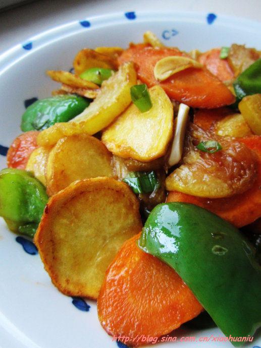 金丝瓜烩三鲜