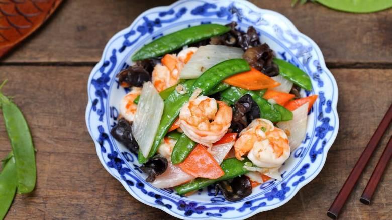 杂炒时蔬,脆嫩鲜美、简单营养的杂炒时蔬就做好了!